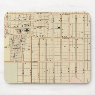 Olinville, Wakefield, New York Mouse Mat
