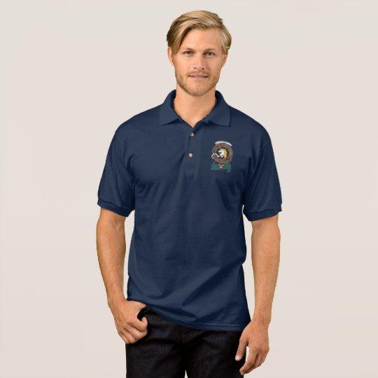 Oliphant Clan Badge Adult Polo Shirt
