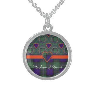 Oliphant clan Plaid Scottish kilt tartan Sterling Silver Necklace