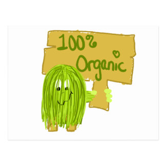 Olive 100% Organic Postcard
