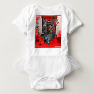 Olive and Dingo, fun loving Portland clowns Baby Bodysuit