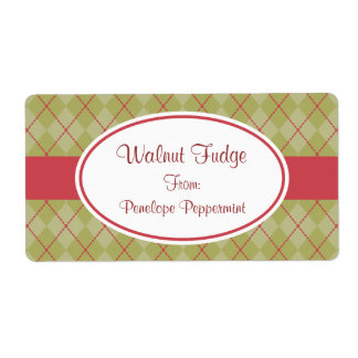 Olive Argyle Holiday Labels