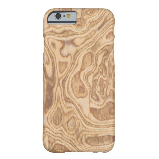 Olive Ash Burl Veneer Real Wood iPhone 6
