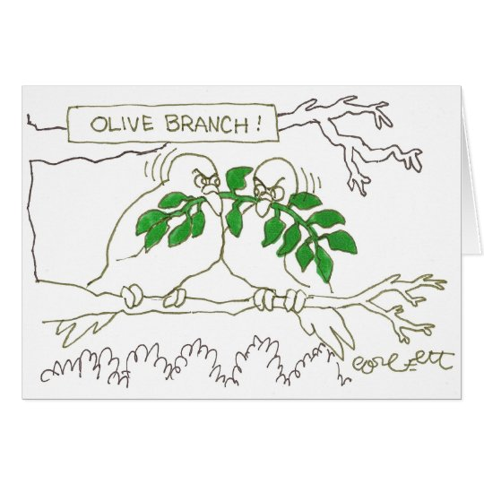 Olive branch! card