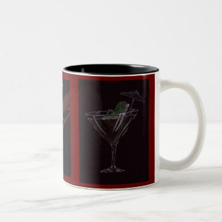 Olive Collection Two-Tone Mug