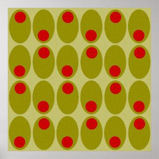 Olive design poster