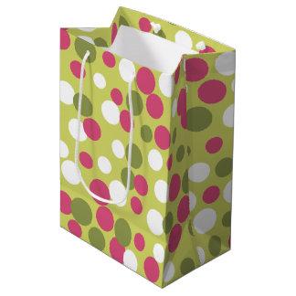 Olive Dots Gift Bag Medium Gift Bag