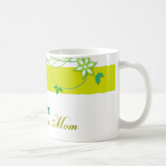 Olive flowers, I love you Mom Coffee Mugs