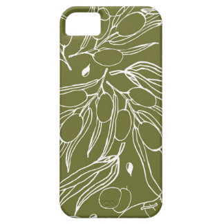 Olive green background iPhone 5 cases