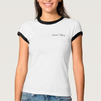 Olive Green Chevron Stripes Baby Shower T-shirt