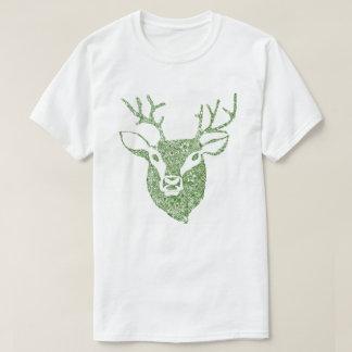Olive Green Deer Head T Shirt