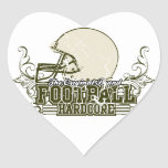 Olive Green Football Hardcore T-shirts and Gifts Stickers