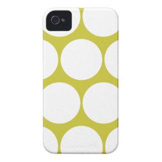 Olive Green Large Polka Dot Iphone 4/4S Case