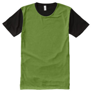 OLIVE GREEN MEDIUM (solid color background) ~.jpg All-Over Print T-Shirt