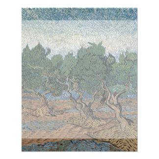 Olive Grove by Vincent Van Gogh 11.5 Cm X 14 Cm Flyer