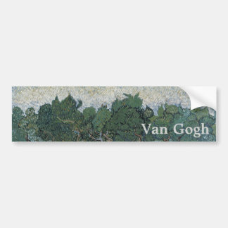 Olive Grove by Vincent Van Gogh Bumper Stickers