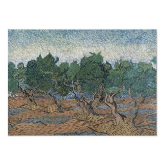 Olive Grove by Vincent Van Gogh Invitation