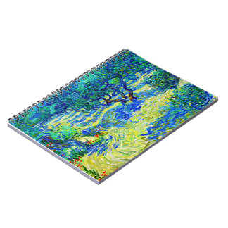 Olive Grove by Vincent Van Gogh Notebooks