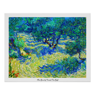 Olive Grove by Vincent Van Gogh Print