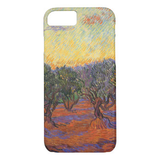 Olive Grove, Orange Sky by Vincent van Gogh iPhone 8/7 Case