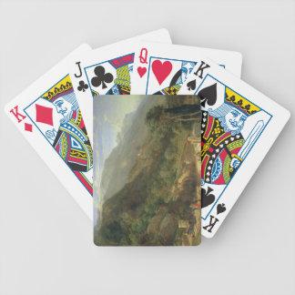 Olive Groves at Varenna, Lake Como, Italy, 1861 (o Bicycle Playing Cards