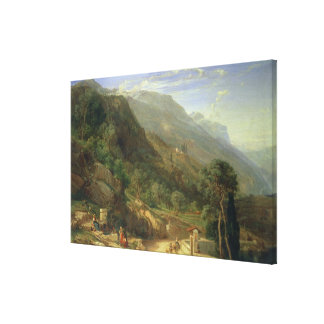 Olive Groves at Varenna, Lake Como, Italy, 1861 (o Gallery Wrap Canvas