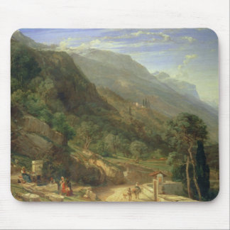 Olive Groves at Varenna, Lake Como, Italy, 1861 (o Mouse Pad
