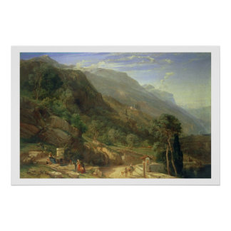 Olive Groves at Varenna, Lake Como, Italy, 1861 (o Poster