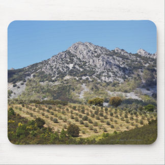 Olive Groves Mouse Mat