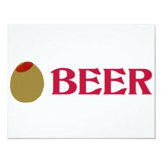Olive (I Love) Beer Invite