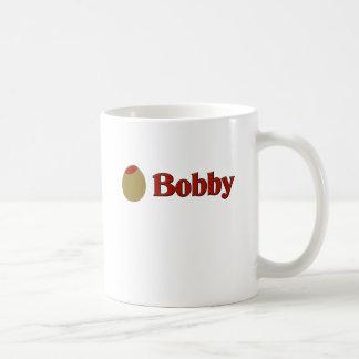 Olive (I Love) Bobby Mugs