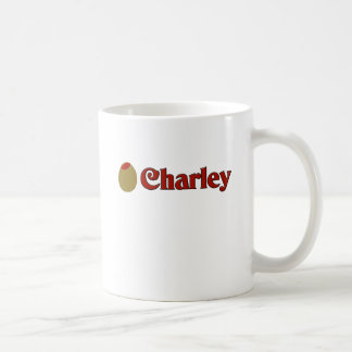 Olive (I Love) Charley. Coffee Mugs