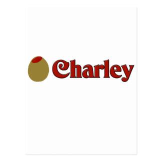 Olive (I Love) Charley. Postcard