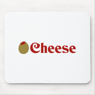 Olive I Love Cheese Mousepad