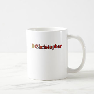 Olive (I Love) Christopher Coffee Mugs