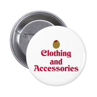 Olive (I Love) Clothing and Accessories Pins