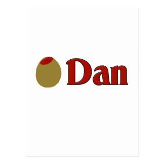 Olive (I Love) Dan Postcard