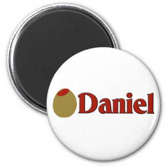 Olive (I Love) Daniel Magnet