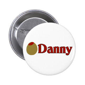 Olive (I Love) Danny Pinback Buttons
