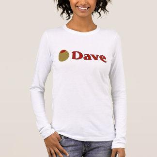 Olive (I Love) Dave Long Sleeve T-Shirt