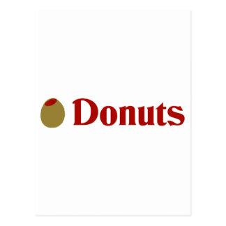 Olive (I Love) Donuts Postcard
