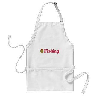 Olive (I Love) Fishing Aprons
