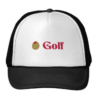 Olive (I Love) Golf Trucker Hat