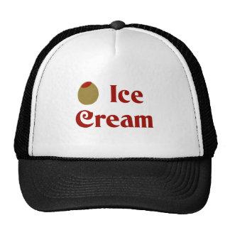 Olive (I Love) Ice Cream Trucker Hat