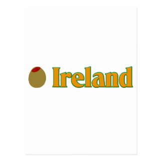 Olive (I Love) Ireland Postcard