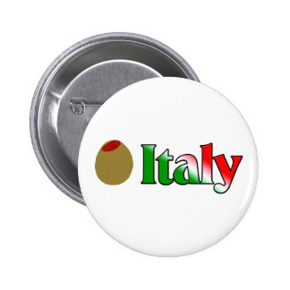 Olive (I Love) Italy Pinback Button