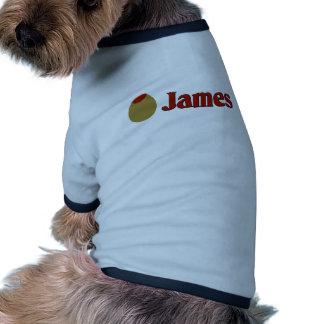 Olive (I Love) James Dog Clothes