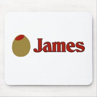 Olive (I Love) James Mousepad