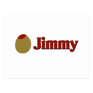 Olive (I Love) Jimmy Postcard