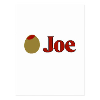 Olive (I Love) Joe Postcard